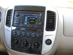 Radio and GPS navigation system